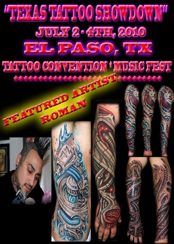 Texas tattoo showdown july 2 4 2010 el paso tx tattoo for Best tattoo shops in el paso